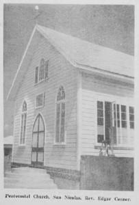 San Nicolaas Pentecostal Church also known as Jackson Church