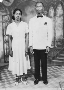 Sarah Vanterpool & Kenneth Libert back in 1950