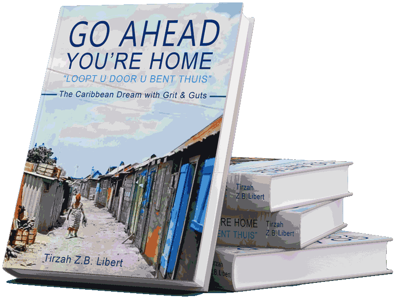 "Grab your book ""Go Ahead, You're home""‏"